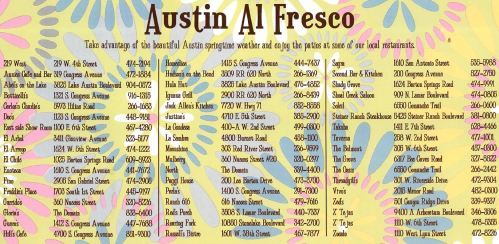 Austin Patios Restaurants Guide